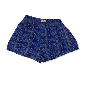 Hollister Aztec Print Casual High-Rise  Shorts